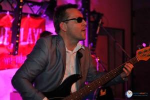 Gitarrist beim Spielen